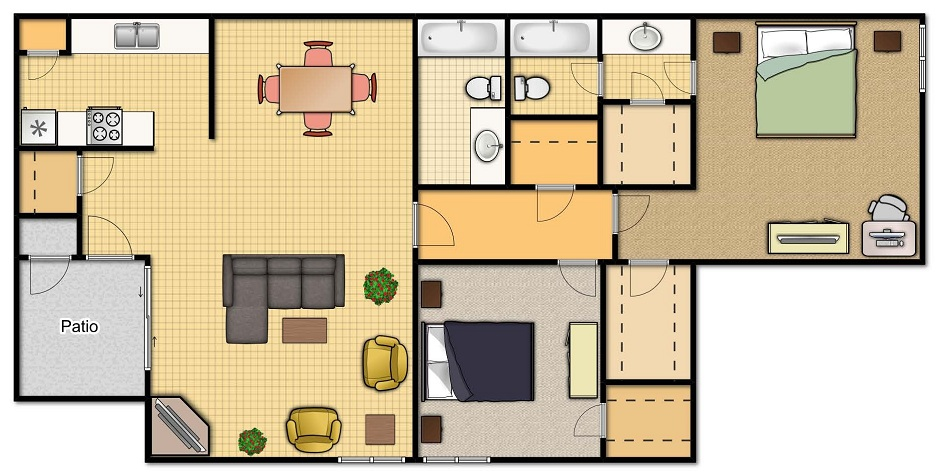 C1 Two Bedroom