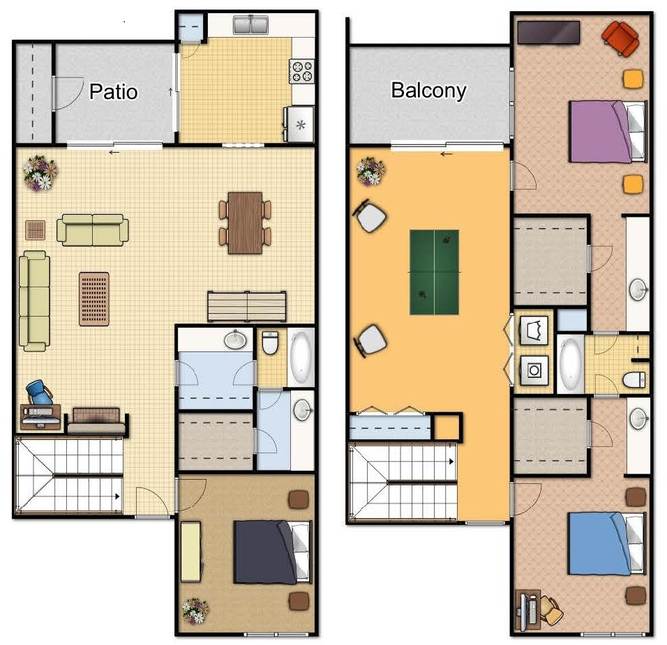 C1 Three Bedroom